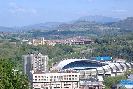 Estadio Anoeta, San Sebastian, Landscape