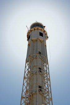 Lighthouse San Sebastian, Lighthouse, Cadiz, Spain