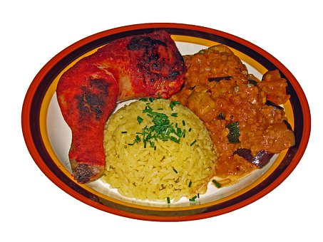 Tandoori, Curry, Vegetable Curry, Chicken, Poultry