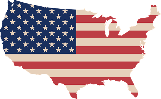 Flag, Map, Request Complete, School, U, S, A, Usa