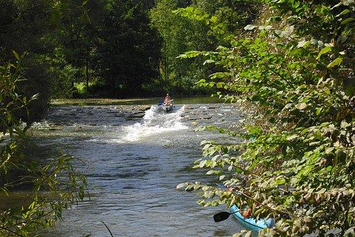 Altmühl Valley, Water Slide, Canoe Trip, Boat Trip