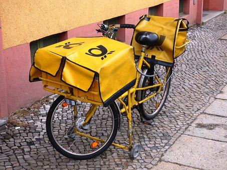 Bike, Email, Letter, Postman, Spoke, Wheel, Spokes