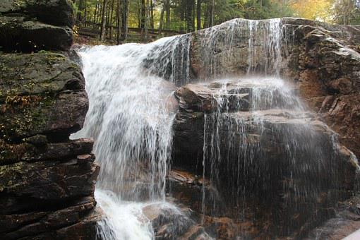 New Hampshire, White Mountains, Flume, New England