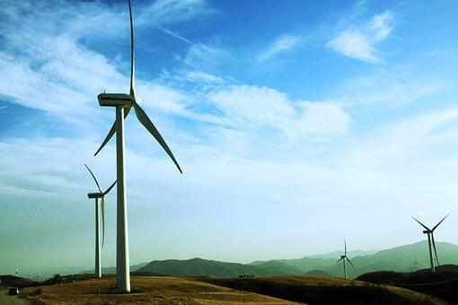 Wind Power Generator, Daegwallyeong, Windmill