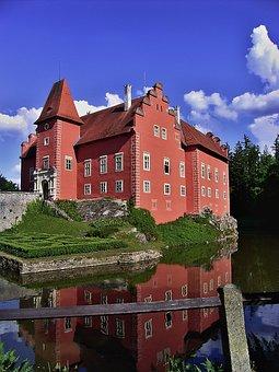 červená Lhota, The Water Lock, Mansion, Czech Republic