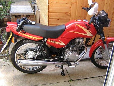 Motorbike, Motorcycle, Vehicle, Bike, Transport, 125