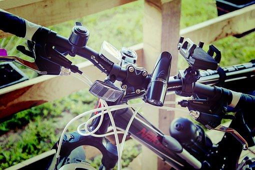 Bike, Brakes, Bicycle, Wheel, Cycling, Mountain, Black