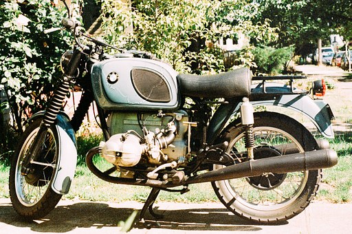 Bmw, Motorcycle, Motorbike, Vintage, Retro, Old