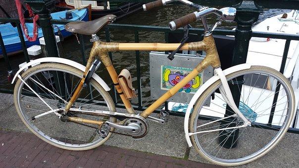 Bamboo Bike, Bike, Bamboo, Fahradrahmen, Brooks