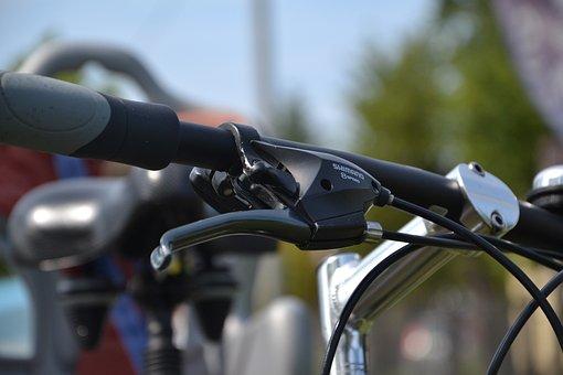 Brake, Bike, By Bike, Steering Wheel, Bicycles, Shimano