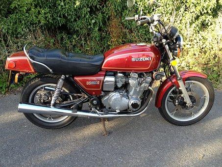 Classic Motor Bike, Suzuki Gs850g, 850cc Dream Ride