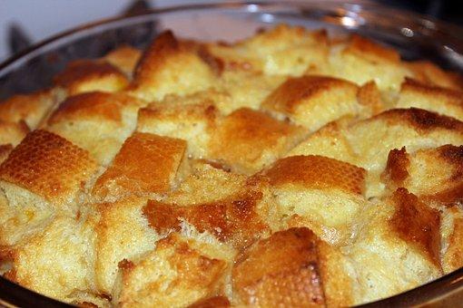 Bread Pudding, Food, Dessert, Bread, Pudding