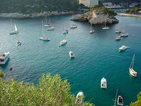 Sea, Mediterranean, Ferreries, Ciutadella, Islands