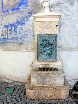 Fountain, Céret, Pyrénées-orientales, France, Catalan