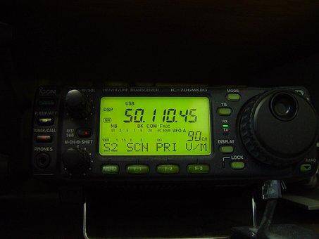 Radio, Transciever, Uhf, Vhf, Hf, 706mk8g, Ic, Icom