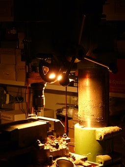 Milling Machine, Drilling, Drill, Milling, Metal