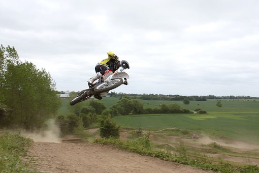 Moto Cross, Motorbike, Sports, Jump, Power, Outdoor