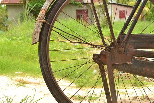 Old Bicycle, Vintage Bicycle, Onthel Bike, Old