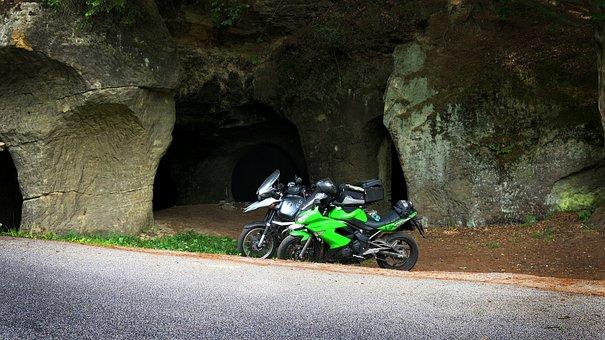 Pekelná Doly, Czech Republic, Motorcycle Journey