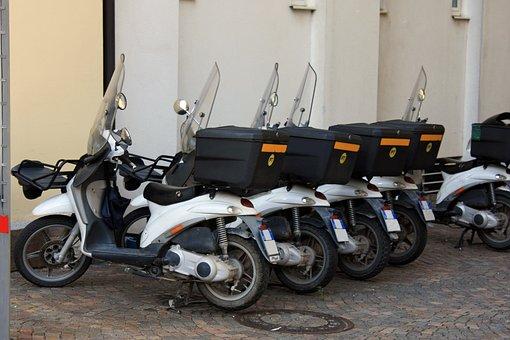 Roller, Italy, Post, Post Roller, Postman