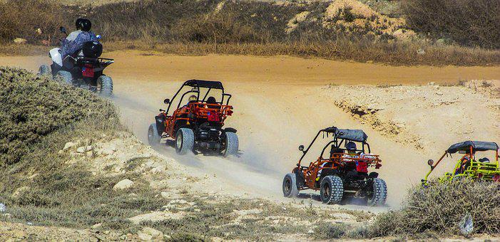 Quad Bikes, Adventure, Nature, Leisure, Dirt, Summer