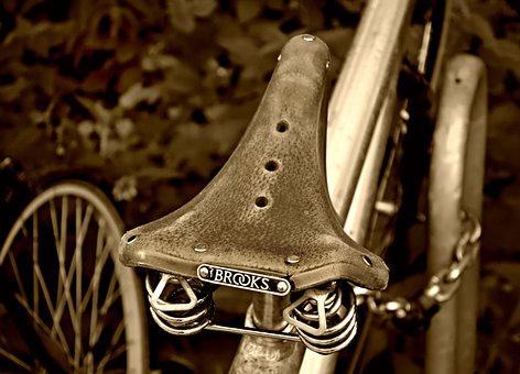Saddle, Bicycle, Bicycle Saddle, Retro, Vintage, Bike