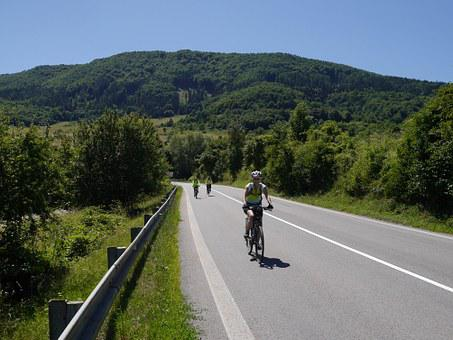 Slovakia, Mountains, Cyklo, Path, Strážov Mountains