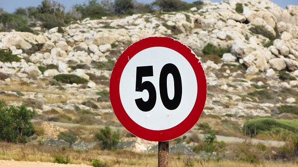 Speed Limit, Sign, Maximum, Slow, Restriction