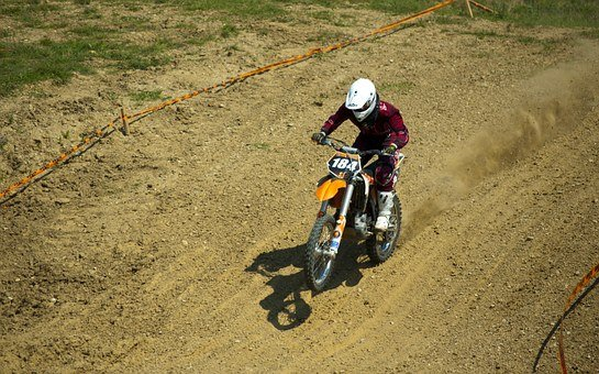 Motocross, Motor, Extreme, Speed, Sport, Race