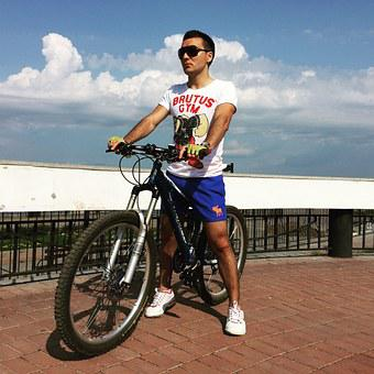 Bike, Sports, Mountain Bike, Summer, Blue Sky, Sky