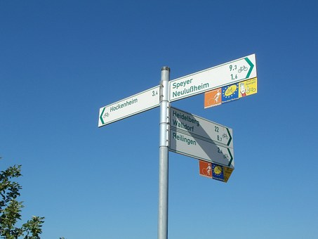 Cycling, Route, Signs, Bike, Bicycle, Symbol, Travel
