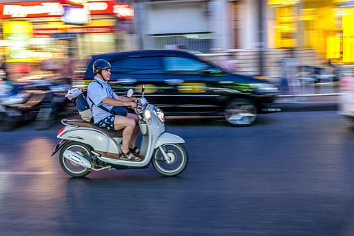 Panning, Phuket, Thailand, Bike, Motorcycle, Speed