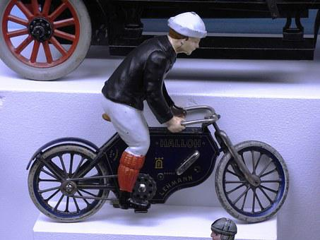 Bike, A Motorcycle, Toy, The Figurine, Cycling Trails