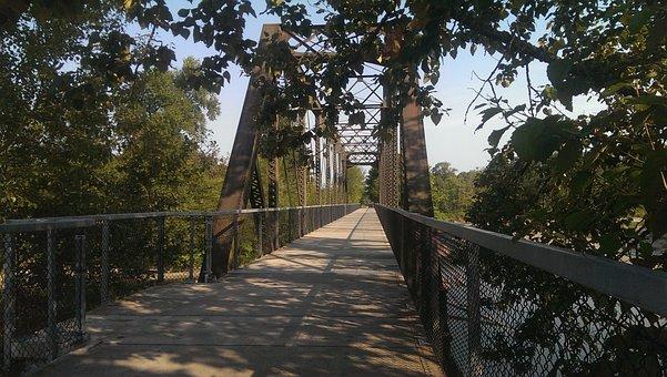 Bridge, Stanwood, Washington, Trail, Bike Path