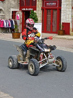 Quad Bike, Motorbike, Quad, Motorcycle, Transportation