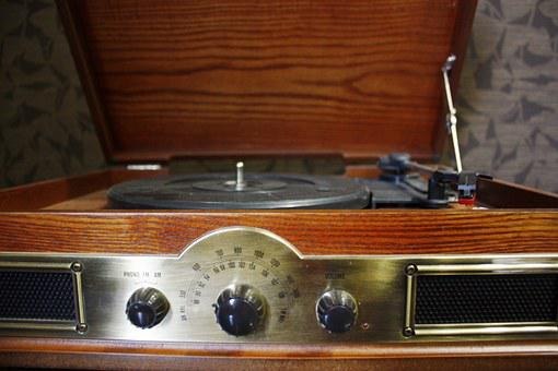 Turntable, Housing Turntable, Old, Music, Vinyl