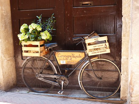 Bike, Old, Italy, In The Free, Two Wheeled Vehicle