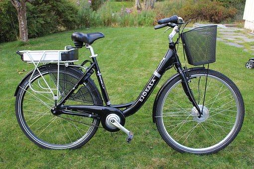 Electric, Women's Bicycle, Basket