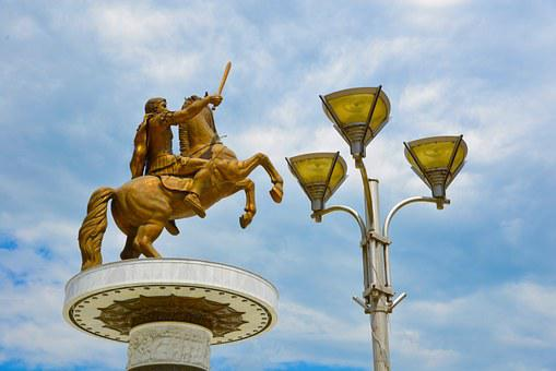 Alexander The Great, Skopje, Statue