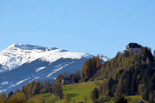 Wildkogel, Kitzbühel Alps, Closed Mittersill, Autumn