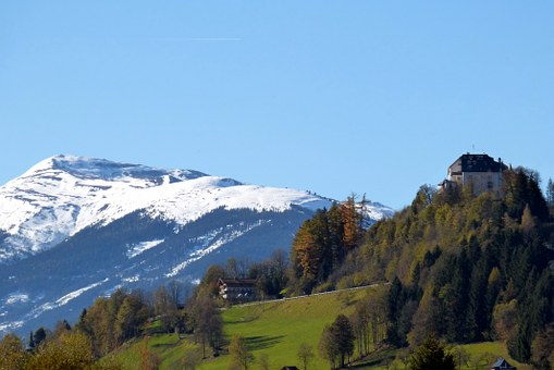 Wildkogel, Kitzbühel Alps, Closed Mittersill, Autumn