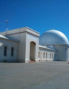Observatory, Blue Sky, Astronomy, Blue, Sky, Telescope