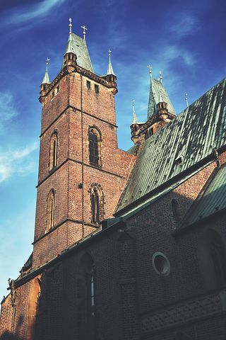 Architecture, Brick Walls, Building, Cathedral, Church