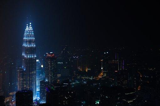Buildings, City, City Lights, Cityscape, Illuminated