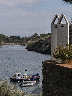 Dali, Cadaqués, Girona, Sea, Port Lligat, Costa Brava