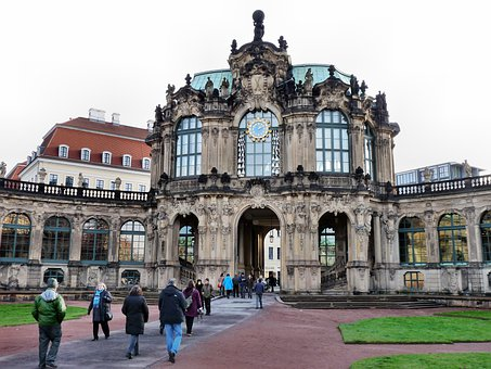 Chimes Pavilion, Kennel, Dresden, Monument, Germany