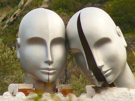Heads, Dalí, Lligat Port, Museum, Face