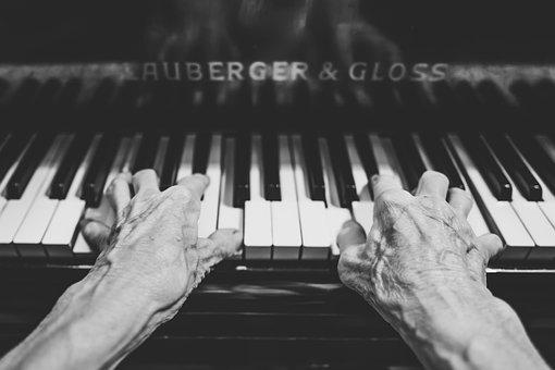 Hands, Keyboard, Keys, Music, Musical Instrument
