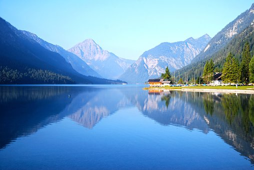 Plansee, Lake, Reutte, Tyrol, Water, Bunting Forest