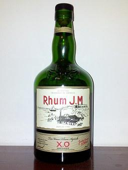 Rum, Martinique French, Party